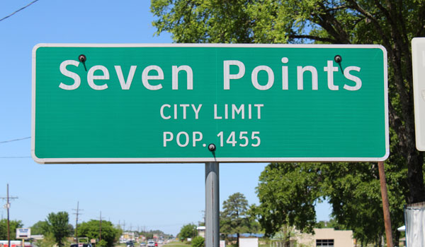 Welcome to the City of Seven Points, Texas' official website